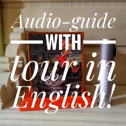Audio-guides with tour in English